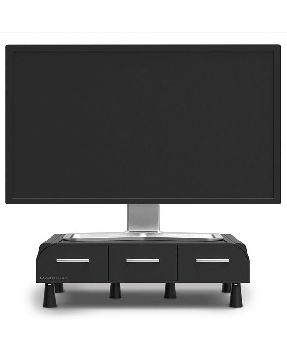 Mind Reader PC, Laptop, IMAC Monitor Stand and Desk Organizer