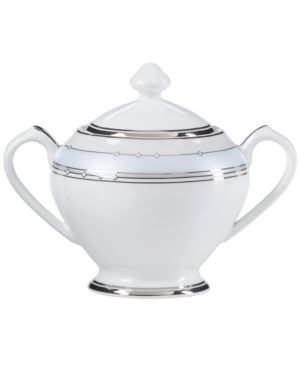 Mikasa Dinnerware, Dreamscape Sugar Bowl with Lid