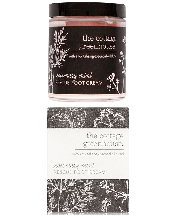 The Cottage Greenhouse Rosemary Mint Foot Cream, 6-oz.