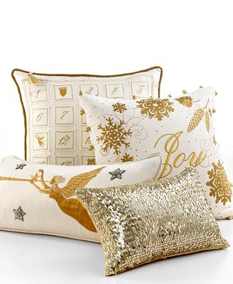 Martha Stewart Collection Bedding Holiday Decorative