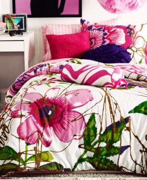 Teen Vogue Bedding, Flora and Fauna Full Sheet Set Bedding
