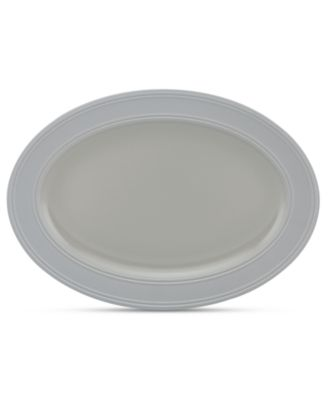 kate spade new york Dinnerware, Fair Harbor Oyster Medium Oval Platter