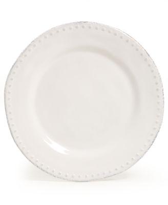 Maison Versailles Blanc Brigette Dinner Plate