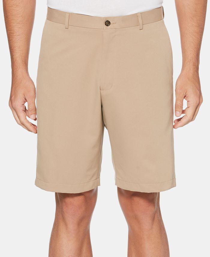 Perry Ellis Portfolio - Men's Portfolio Classic-Fit Moisture-Wicking Shorts