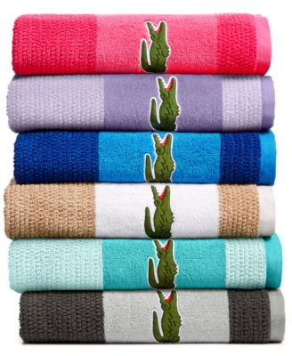 Match Cotton Colorblocked Bath Towel