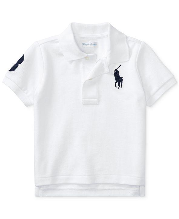 Polo Ralph Lauren Ralph Lauren Baby Boys Cotton Mesh Polo Shirt
