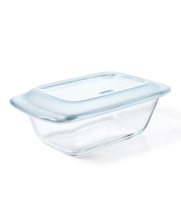 OXO Good Grips 1.6-Qt. Glass Loaf Pan With Lid
