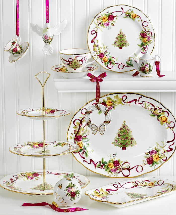 Royal Albert Old Country Roses Holiday Collection ...