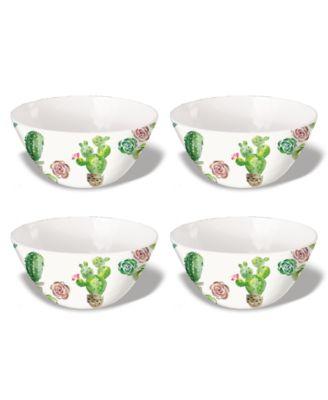 """Desert Garden Cereal Bowl, 6.1"""" x 2.8"""",  26 oz., Melamine, Set of 6"""