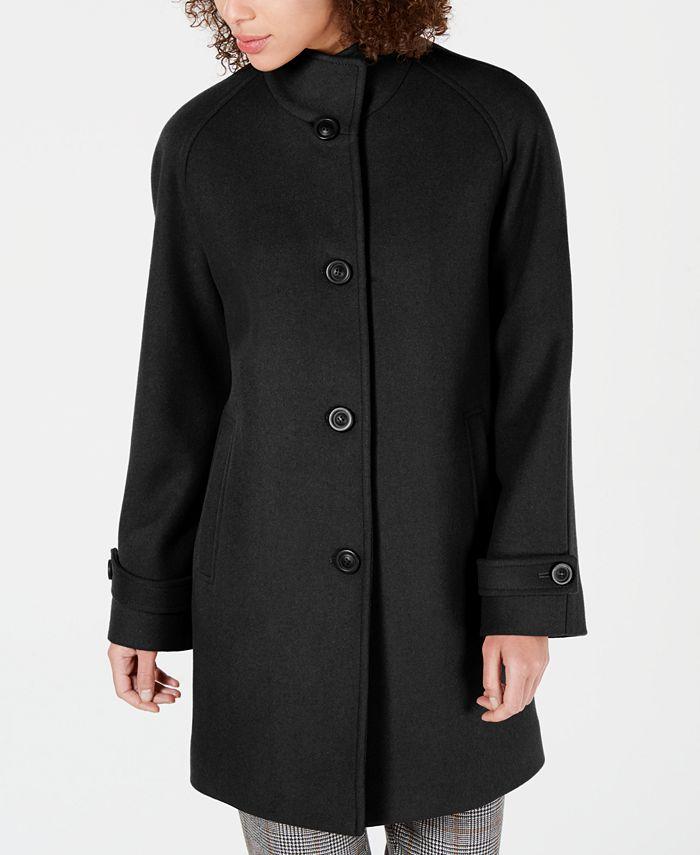 Jones New York - Stand-Collar Coat