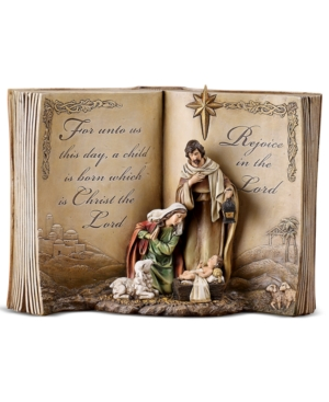 Napco Nativity Scene, Bible