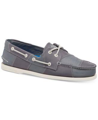 2-Eye Sailcloth Boat Shoes