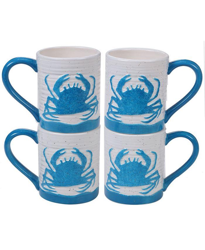 Certified International - Natural 4pc Mug Set