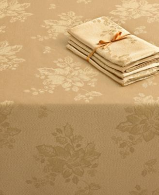 Homewear Table Linens, Set of 4 Dinner Party Bountiful Napkins