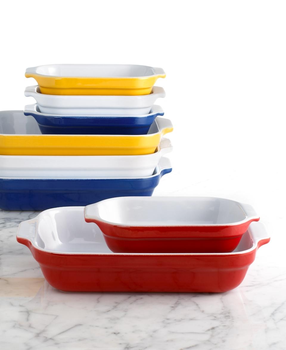 Emile Henry Classics Ceramic 7 & 11 Lasagna Dish Set