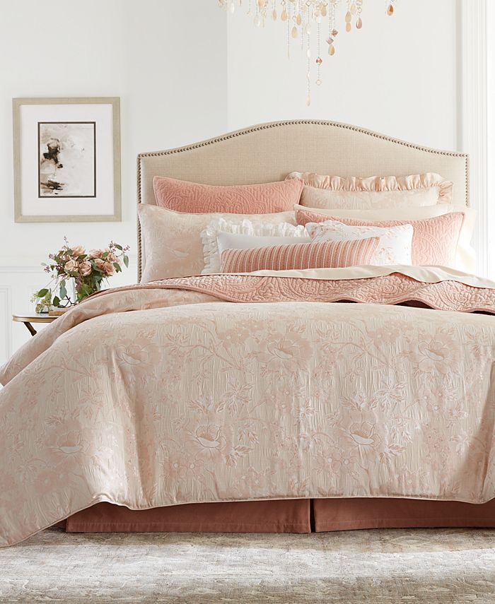 Hotel Collection - Classic Roseblush King Comforter