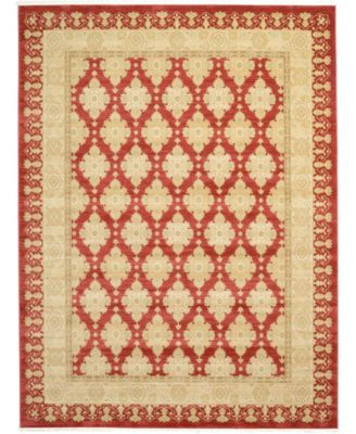 Orwyn Orw5 Red 9' x 12' Area Rug