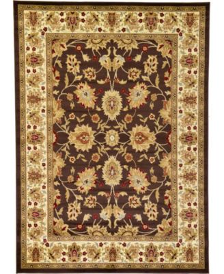 Passage Psg3 Brown 7' x 10' Area Rug