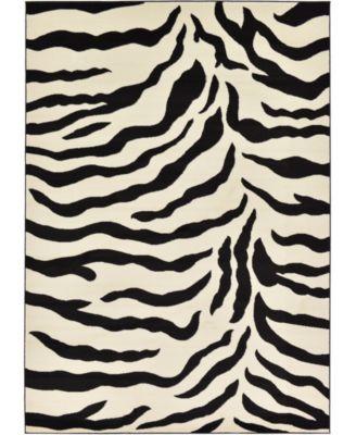Maasai Mss3 Ivory 7' x 10' Area Rug