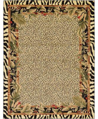 Maasai Mss1 Ivory 9' x 12' Area Rug