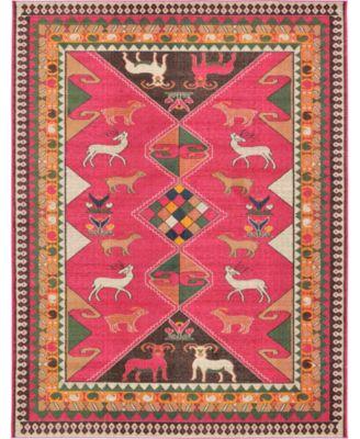 CLOSEOUT! Arcata Arc7 Pink 9' x 12' Area Rug
