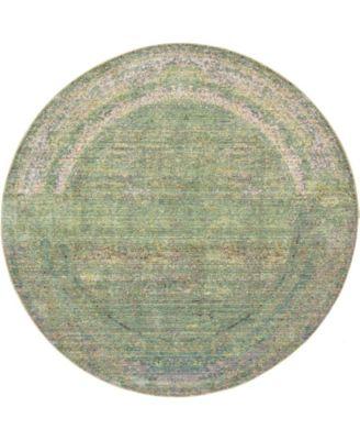 Malin Mal8 Green 6' x 6' Round Area Rug