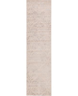 """Caan Can5 Taupe 2' 7"""" x 10' Runner Area Rug"""