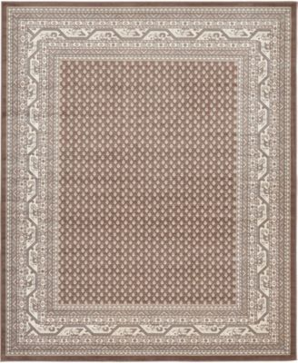 Axbridge Axb1 Brown 8' x 10' Area Rug