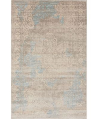 Caan Can4 Taupe 4' x 6' Area Rug