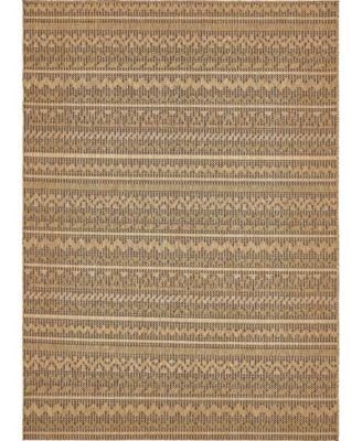 """Pashio Pas6 Light Brown 8' x 11' 4"""" Area Rug"""