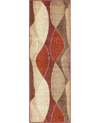 Jasia Jas04 Multi 2' x 6' Runner Area Rug