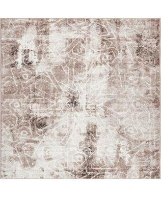 Basha Bas6 8' x 8' Square Area Rug