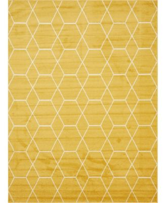 Plexity Plx1 Yellow 9' x 12' Area Rug