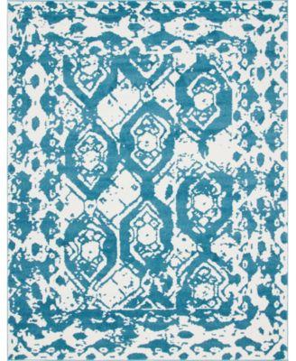 Mishti Mis5 Blue 8' x 10' Area Rug