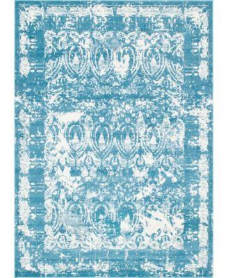 Mishti Mis3 Blue 9' x 12' Area Rug
