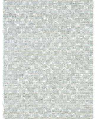 Jari Checkered Jar2 Ivory 8' x 10' Area Rug
