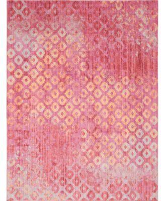 Prizem Shag Prz2 Pink 10' x 13' Area Rug