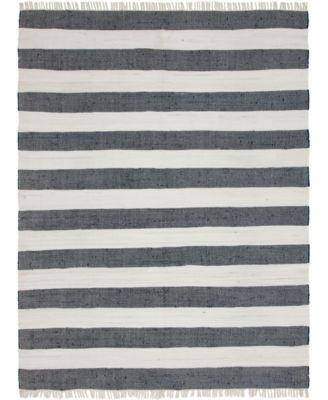 Jari Jar5 Navy Blue 9' x 12' Area Rug