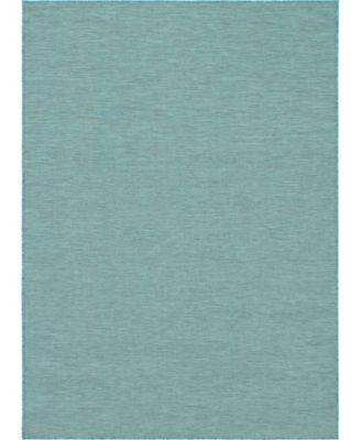 """Pashio Pas8 Turquoise 8' 4"""" x 11' 4"""" Area Rug"""