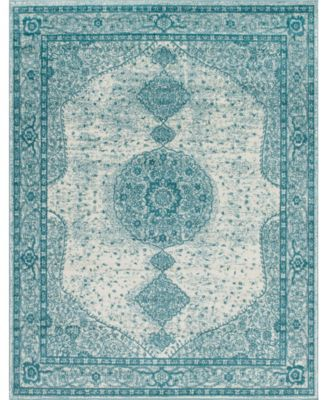 Mobley Mob1 Turquoise 8' x 10' Area Rug