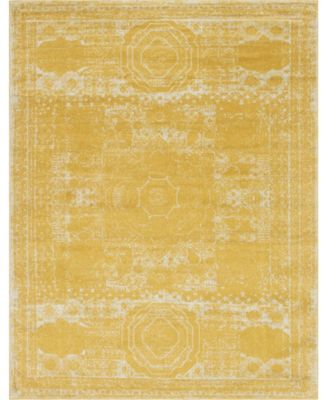 Mobley Mob2 Yellow 8' x 10' Area Rug