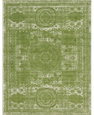 Mobley Mob2 Green 8' x 10' Area Rug