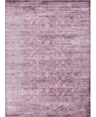 Anika Ani2 Violet 8' x 11' Area Rug