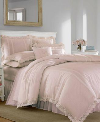 Annabella Pastel Pink Duvet Set, Twin