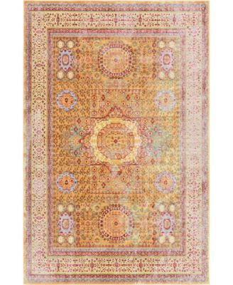 Malin Mal1 Gold 5' x 8' Area Rug