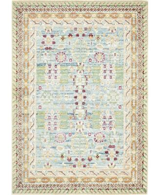 Malin Mal2 Blue 4' x 6' Area Rug