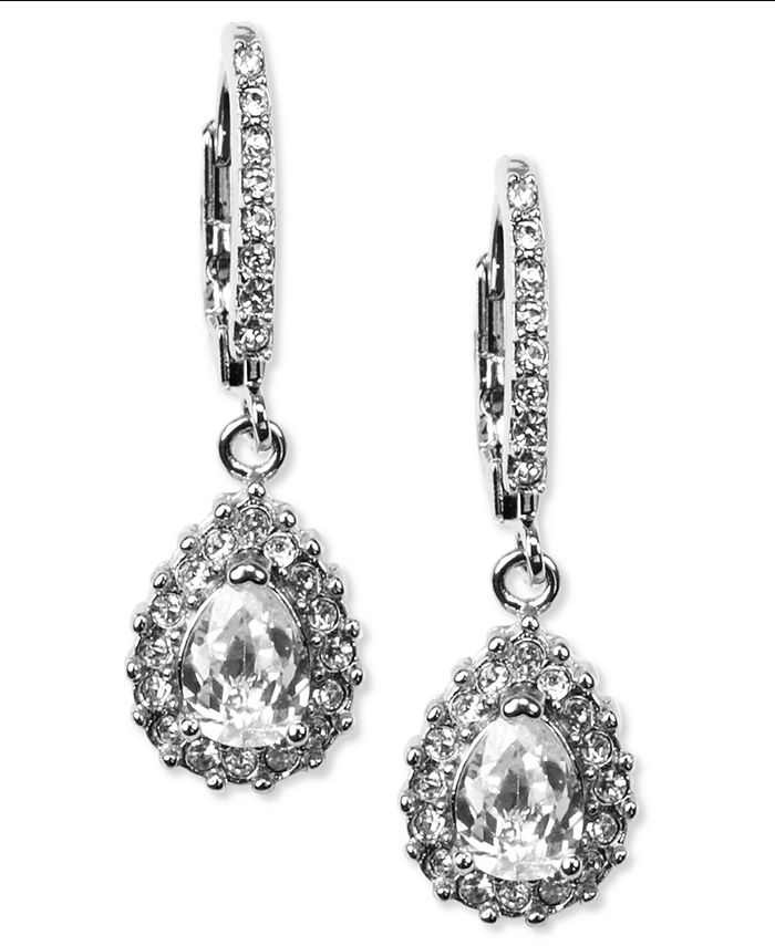 Givenchy - Silver-Tone Drop Earrings
