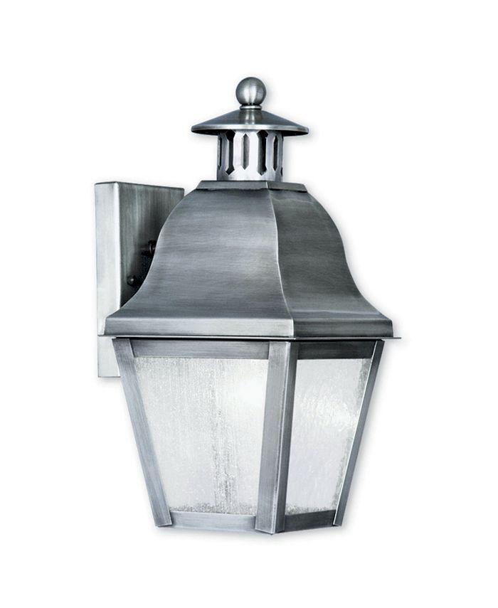 Livex - Amwell 1-Light Outdoor Wall Lantern
