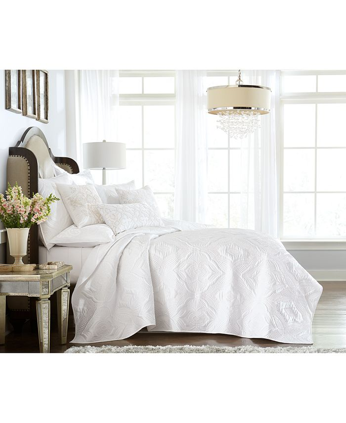 Hotel Collection - Classic Medallion King Coverlet