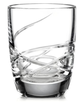 Lenox Barware, Adorn Double Old Fashioned Glasses, Set of 4